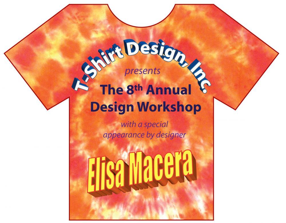 Elisas 8th Birthday Party T Shirt Invite