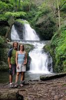 Joke & Felice on the Tumbling Waters Trail