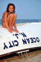 Elisa on the Life Boat