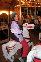 Gabriella & Elisa on the Carousel
