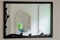 New mirror in Gabriella's room