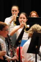 Gabriella in the Charles Boehm Band, 2011