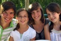 Lucas, Elisa, Kaat & Gabriella