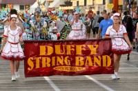 String Band on the boardwalk