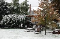First Snow, 2011 / Pergola