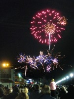 First Fireworks 2012