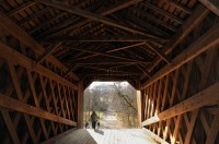 Covered bridge Tyler State Park