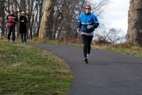 Mama running in Tyler Park