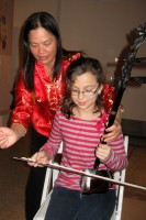 Elisa playing the Erhu @ Chinese New Year 2012