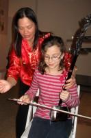 Elisa playing the Erhu @ Chinese New Year 2012