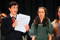 """Gabriella & Daniel in Charles Boehm production """"Curtains"""""""