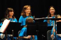 Elisa in the Pennsbury Honors Band