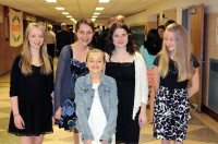 Gabriella & Friends inducted into the Honor Society