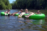 Gabriella's Tubing Party