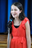 Gabriella Singing at her Coming of Age Ceremony