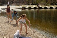 Girls at Tyler State Park