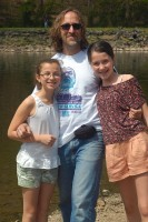 Papa & the Girls at Tyler State Park