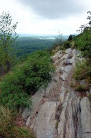 Top of Rattlesnake Trail - A.T. Trail