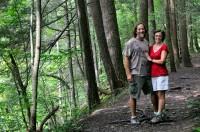 Mama & Papa on the trail