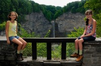 Scenic overlook at Taughannock