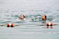 Swimming the Cayuga